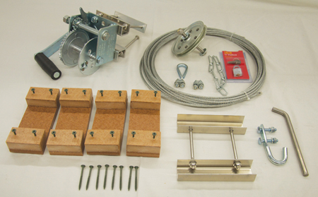 T-14 Mounting Kit for Aluminum Pole