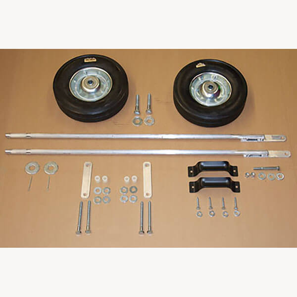 V-top Trap Wheel and Axle Kit