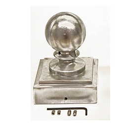 Ball Top for Three-inch Square Pole