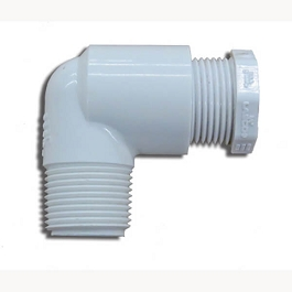 PVC Elbow Vent with Threaded Plug