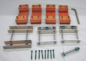 T-14 Conversion Kit (Parts to Upgrade from a Wooden to Aluminum T-14 Pole)